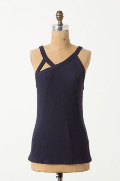Triad Slice Tank - Anthropologie.com