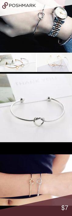 Modern Knot bracelet silver silver knot bracelet Jewelry Bracelets