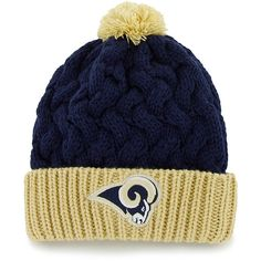 007b99cad Women s  47 Brand St. Louis Rams Matterhorn Knit Hat All Nfl Teams
