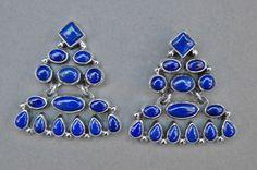 earrings, Geneva Apachito (Diné)   eff yeah indigenous fashion!