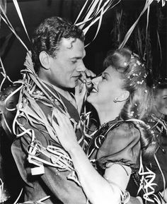 Joseph Cotten and Ginger Rogers having a lovely time
