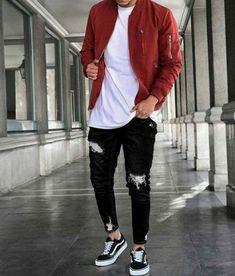 Mens Casual Fashion Tips Mens Fashion Suits, Fashion Outfits, Men's Fashion Tips, Trendy Mens Fashion, Urban Style Outfits, Fashion Pics, Male Fashion, Cheap Fashion, Urban Fashion