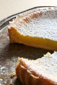 Whole Mayer lemon tart