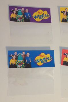 FREE The Wiggles Party Favour / Favor Bag Printables to download and print at home - by Cake Crusaders Blog.com