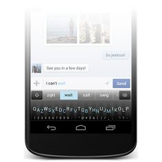 Minuum-lead qwerty compressed ... extremely compressed vertically