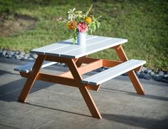 Ana White | Toddler Picnic Table - DIY Projects