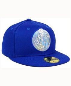 New Era Dallas Mavericks Iridescent 59FIFTY Cap - Blue 7 1/8