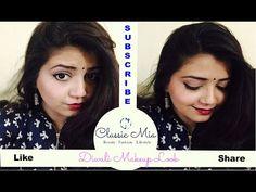 Diwali Makeup Look | Classic Mia | Indian Beauty Guru | Indian Youtuber - YouTube