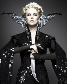 Charlize Theron as Ravenna The Wicked Witch