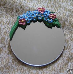 Barbola mirror for 12th scale dollshouse
