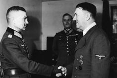 Adolf Hitler And Marshal Walter Model In Germany On 1942 Walter Model, Germany Ww2, First Daughter, Models, World War Two, His Eyes, Wwii, Army, Model