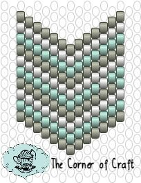 to the Cozy Corner of Craft: Peyote Chevron Flag Pendant Peyote Beading Patterns, Peyote Stitch Patterns, Beaded Bracelet Patterns, Jewelry Patterns, Loom Beading, Bead Patterns, Peyote Stitch Tutorial, Bracelets, Loom Bracelets