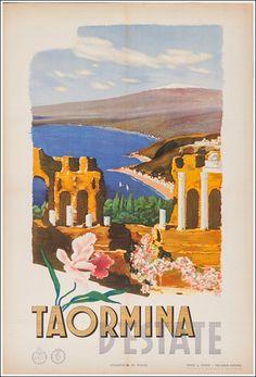 Taormina d'estate - 1935 -