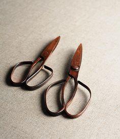 Tajika Copper - Handcrafted Scissors by Tajika Haruo Ironworks