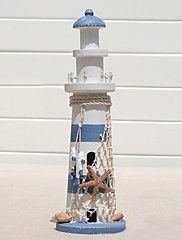"12 ""Country Style Lighthouse Type de collection"