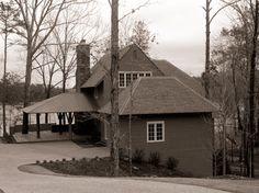 Bill Ingram Architect   Portfolio Oakleaf Bill Ingram, Lake Homes, Cottages, House Ideas, Farmhouse, Design Ideas, Houses, Exterior, House Design