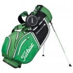Titleist 2014 Lightweight Stand Bag: Apple-Black-Silver | Golf gifts by george