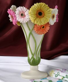 Take a look at this Gerber Daisy Table Vase by Ibis & Orchid Design on #zulily today!