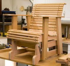 DIY Glider Deck Chairs