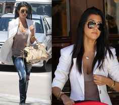 Style obsession: Kourtney Kardashian