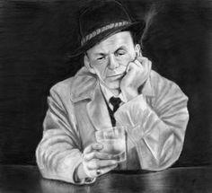 ~ Frank Sinatra ~ beautiful sketch