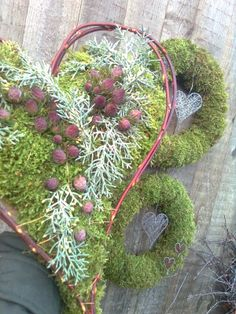 . Christmas Greenery, Pine Cones, Fall Decor, Diy And Crafts, Berries, Xmas, Wreaths, Natural, Inspiration