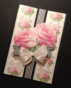 This lovely floral card is sentiment-free, so its potential applications are endless: Mothers Day, Birthday, or Graduation. Hand Made Greeting Cards, Greeting Cards Handmade, Image 3d, Floral Card, Quilling Paper Craft, Anna Griffin Cards, Vintage Valentine Cards, Mothers Day Cards, Paper Cards