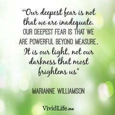 #VividLifeMoment #Inspiration #Fear