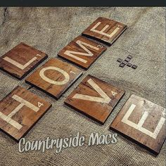 Check out this item in my Etsy shop https://www.etsy.com/ca/listing/245371642/large-wooden-scrabble-tilesletters