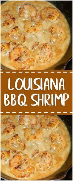 Louisiana BBQ Shrimp #louisiana #bbq #shrimp #foodlover #homecooking #cooking #cookingtips