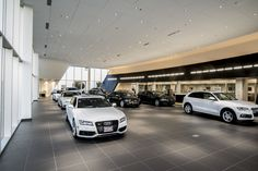 Audi Concord Interior  - Premier Bay Area Audi and Pre-Owned Auto Dealer