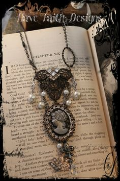 Lady of Paris Necklace by HaveFaithDesigns on Etsy