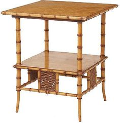 Example of Horner's 19th c. Faux Bamboo Furniture