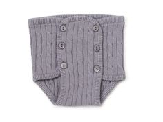 Diaper Cover Normandie unisex Summer 13 for babies grey colour