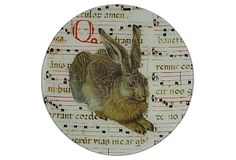 """10"""" Gothic Rabbit Tray on OneKingsLane.com  i love everything about this.  a lot."""