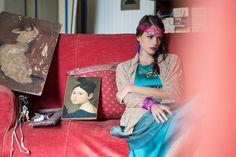 Atmosphere - Paolin,  Paolin Spring-Summer 2015 3D printed jewellery  ph: Roberta De Min Fotografa model: Elena Stival make up : Laura De Pellegrin all rights reserved ph©Roberta De Min 2014