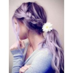 Sometimes being simple, isn't a bad thing. Light purple hair! <3