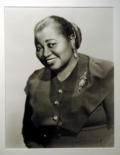 In 1940, Hattie McDaniel was the first black person to win an Academy Award for her role as Mammy in Gone With The Wind.