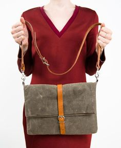 Palm Cross-Body Bag // Kate Sheridan