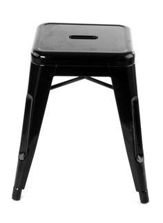 46cm Black Replica Xavier Pauchard Tolix Stool $57 Each!!  http://www.stoolsandchairs.com.au/replica-tolix-stool-46cm-black-set-of-4/  #black #xavier #pauchard #tolix #stool