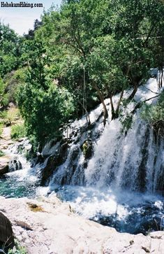 Waterfall at Fossil Springs