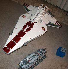 LEGO Ideas - UCS Republic Attack Cruiser
