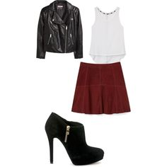 Dinner out by amorton1000 on Polyvore featuring Rebecca Minkoff, H&M and MICHAEL Michael Kors