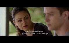 GOOD TUMBLR Friends With Benefits, Smart People, Popcorn, Movie Tv, Tv Series, Tumblr, Let It Be, Feelings, Quotes