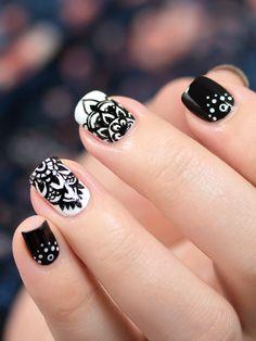 http://mademoiselle-emma.fr/ // Inspiration manucure #nail #nails #nailart