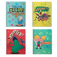 Nickelodeon Splat College Ruled Notebook 4pk - Exclusive Additional Image