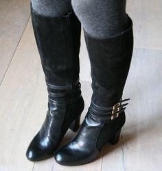 Chie Mihara Yoshiko black boots