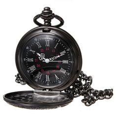 Steampunk Schwarz Roma Taschenuhr Bronze Uhren Ketteuhr Halskette Pocket Watch BetterMore-DE http://www.amazon.de/dp/B00KHLUE58/ref=cm_sw_r_pi_dp_RSTnub19GWWH0