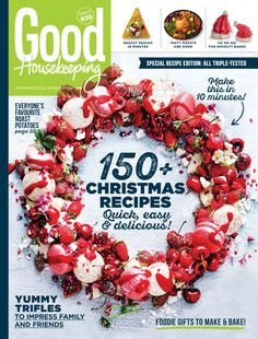 From snacks to sides, our special recipe edition is filled with amazing, triple-tested recipes that will help you create an inspired festive feast! Roast Recipes, Chef Recipes, Good Roasts, Trifle Recipe, Mince Pies, Good Housekeeping, Special Recipes, Food Gifts, Us Foods