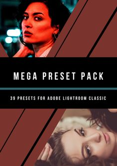 39 premium presets for Adobe Lightroom! Including Film-Look presets from our current collection. Light-Leaks, Lomo, Vintage and presets for architecture and landscape.